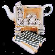Cardew Novelty Teapot Portmeirion Market Stall Signed Paul Cardew