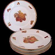 Vintage Rosenthal Continental Five Salad Dessert Plates JKW Cover Up Mark