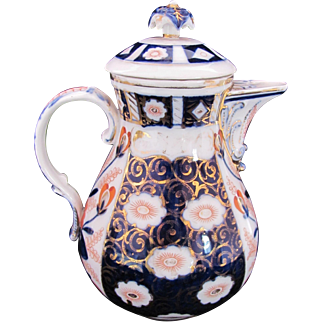 Imari Chocolate Pot Schoenau Brothers c.1900