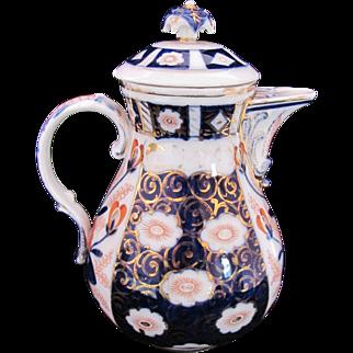Dresden Imari Chocolate Pot Franziska Hirsch c.1900
