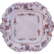 Royal Worcester Square Plate c.1912