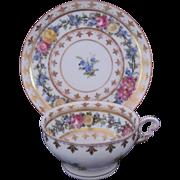 Dresden Cup Saucer Ambrosius Lamm 19th Century c.1891-1914