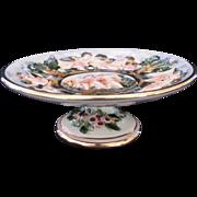 Capodimonte Tazza Pedestal Plate