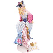 Guido Cacciapuoti Pierrette Figurine Figure Signed Righetto Italy