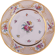 Dresden Plate Charger Ambrosius Lamm 1940's