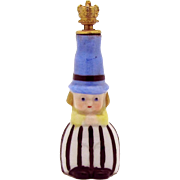 Goebel *Boy with Top Hat* Art Deco German Crown Top Figural Perfume Bottle