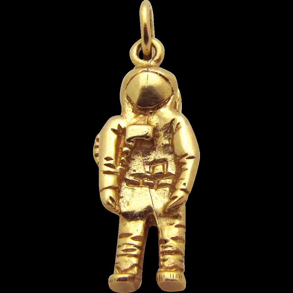 vintage astronaut charm - photo #5