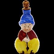 Vintage Arabian Man Heinz German Crown Top Figural Perfume Bottle