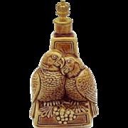 Art Deco *Love Birds* Schafer Vater German Figural Crown Top Perfume Bottle