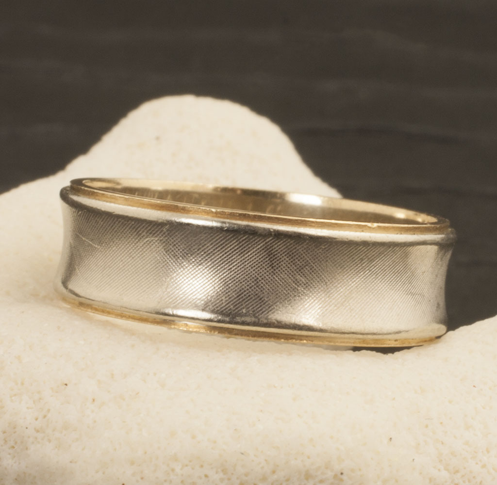 Vintage 14 Karat Gold Wedding Band