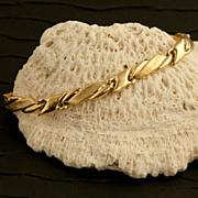 Vintage 14 Karat Gold Bracelet