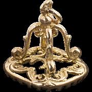 Antique Victorian 10 Karat Gold Fob