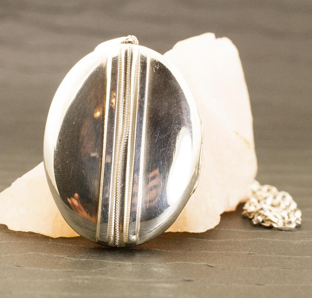 Vintage Sterling Silver Locket