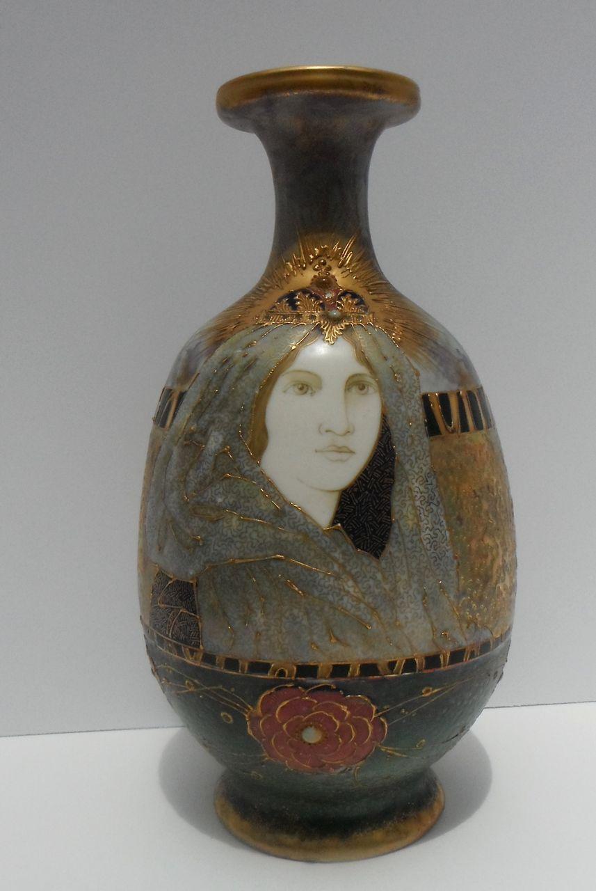 Rstk Riessner Stellmacher And Kessel Amphora Art Nouveau