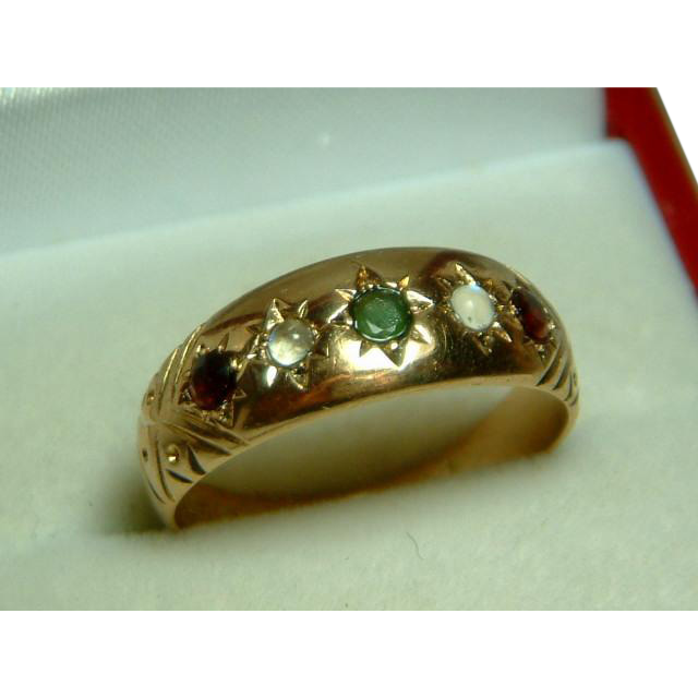 Attractive early edwardian birmingham 1902 15ct gold for Sell jewelry birmingham al