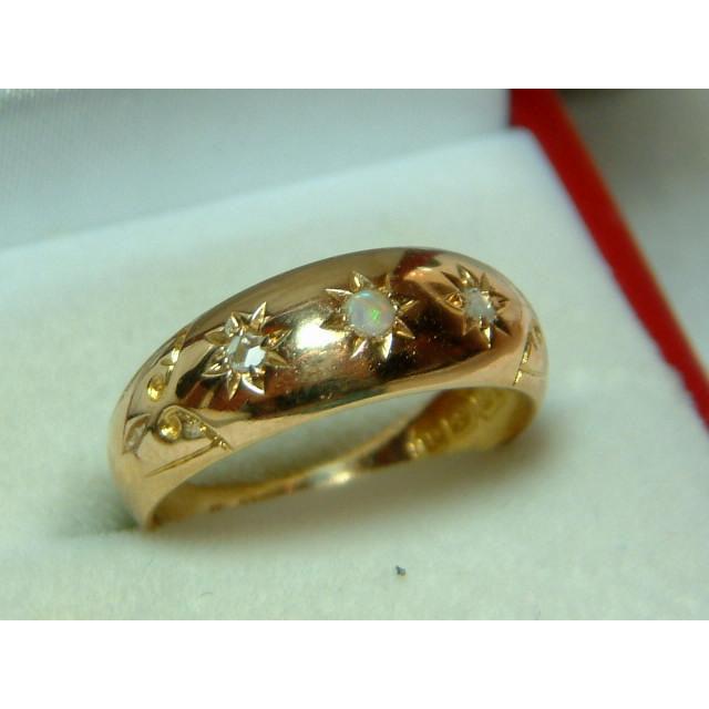 Lovely early edwardian birmingham 1903 18ct gold diamond for Sell jewelry birmingham al