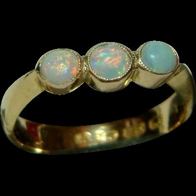 Exquisite victorian birmingham 1890 18ct solid gold 3 for Sell jewelry birmingham al