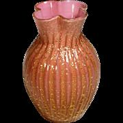 STUNNING BI-COLOR AVENTURINE - Hobbs Phoenix Art Glass Webb Stevens & Williams?
