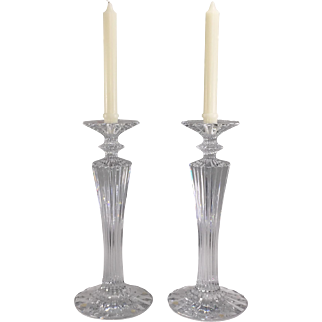 Baccarat Mille Nuits candlesticks