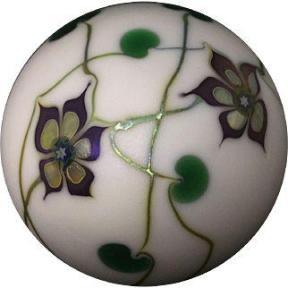Vintage Lundberg Studios Limited Edition Paperweight SIgned by Steven Lundberg!!