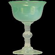 Carder era Steuben Oriental Jade Stem Shape No. 5217