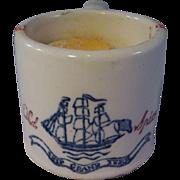 Old Spice Mug with Shaving Soap - Ship Grand Turk