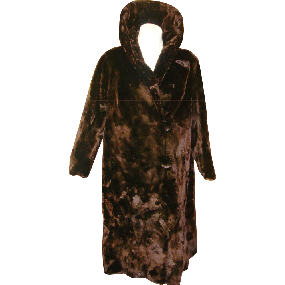 Vintage Alaska Fur Seal Coat from antiquetreasurebox on Ruby Lane