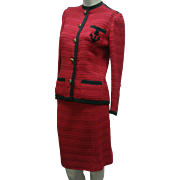 Chanel Suit Red