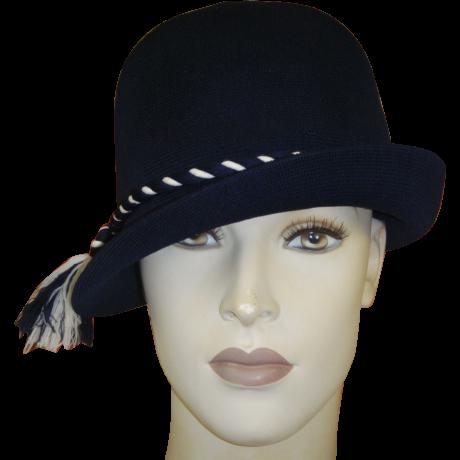 Vintage Hat Kangol England Blue White