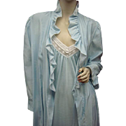 Dior Nightgown Peignoir Robe Creeds Toronto