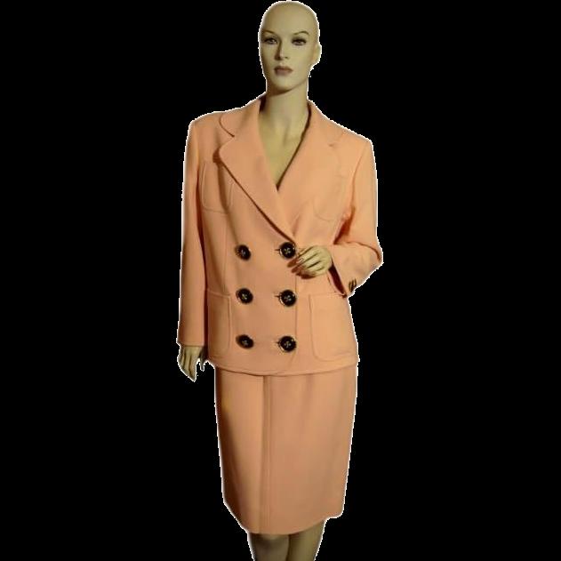 Christian LaCroix Designer Wool Suit Designer