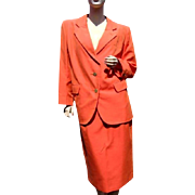 Yves Saint Laurent Rive Gauche Suit Jacket and Skirt