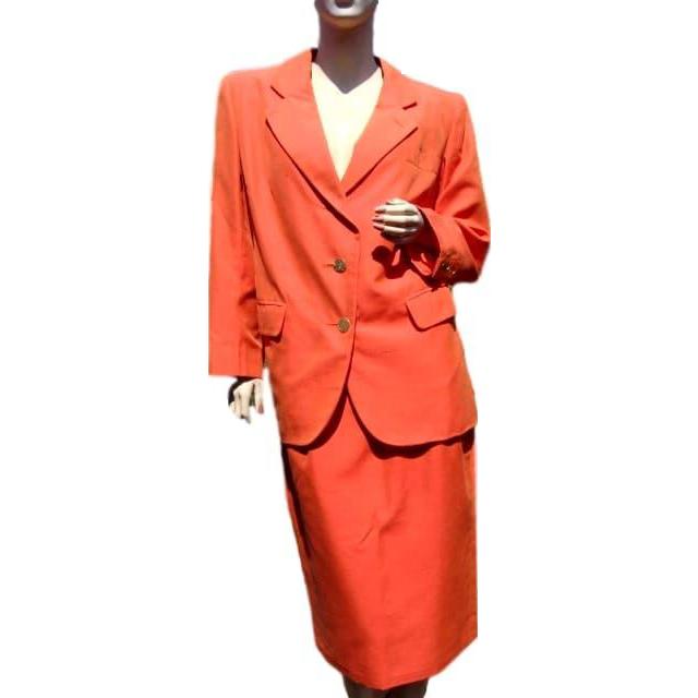 Yves Saint Laurent Rive Gauche Suit Jacket and Skirt