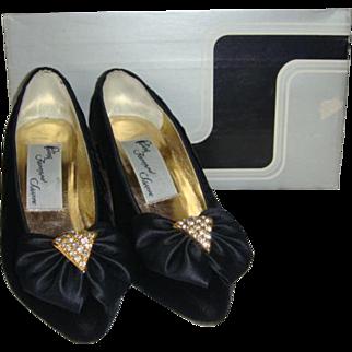 Tiny Ferragamo Velvet Heels Holt Renfrew