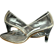 Vintage Lucite Heels Private Collection Brand New in Box