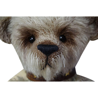 Bear Award Winning Artist Made One of A Kind Mohair Teddy