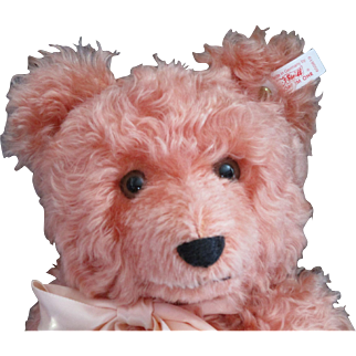 Retired Pink Steiff Bear Limited Edition North American Exclusive