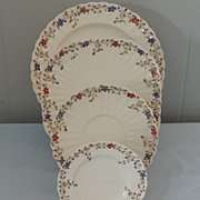 Copeland Spode Wicker Dale Dinnerware China Set