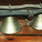 Graduated Brass Sleigh Bells