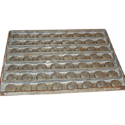 Vintage Commercial Chocolate Candy Mold Buttons
