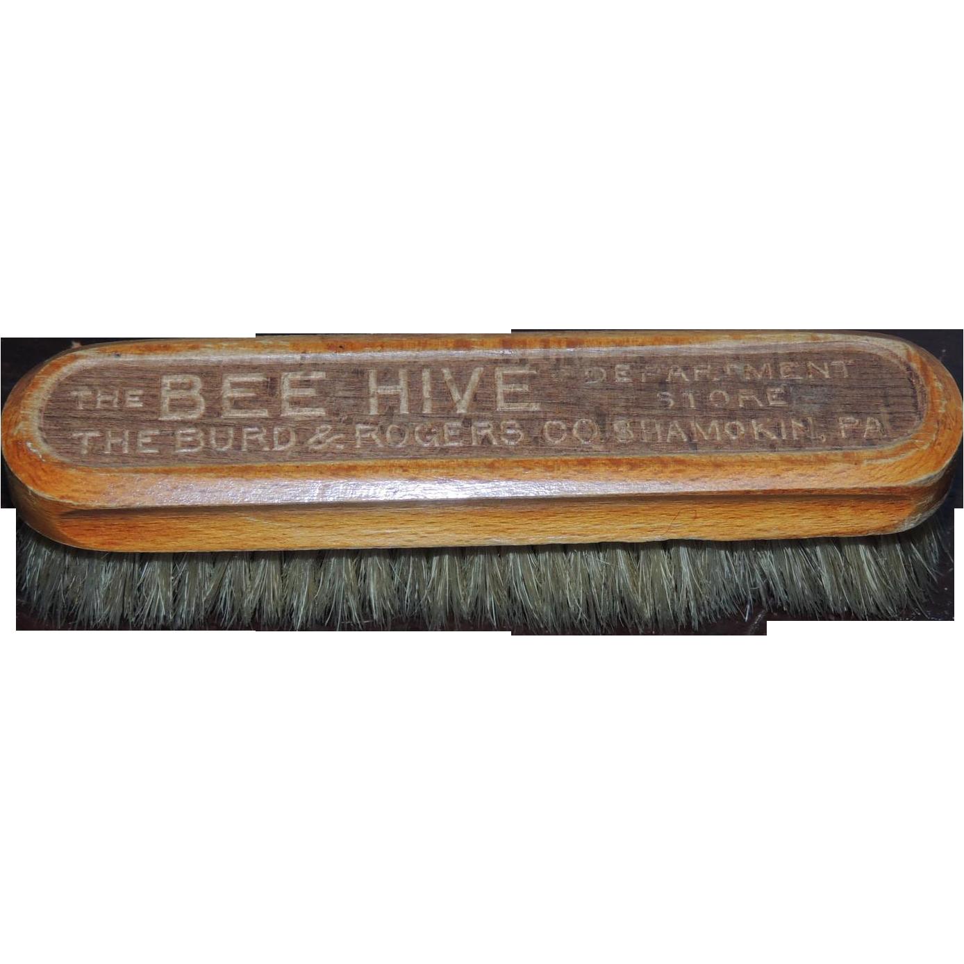Burd Rogers Bee Hive Store Dresser Brush Shamokin Pa From