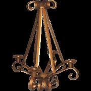 Wrought Iron Candelabra Candle Holder