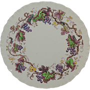 Wedgwood & Barlaston Old Vine Plate Grape