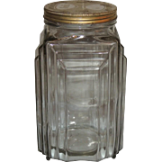 Art Deco Necco Candy General Store Counter Display Jar