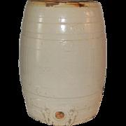 Robinson Merrill Stoneware Pottery Barrel Cooler
