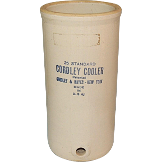 Cordley & Hayes Stoneware Pottery Water Cooler
