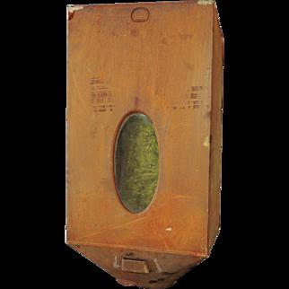 Antique Hoosier Sellers Tin Metal Cabinet Flour Bin