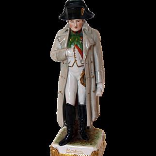 Napoleon Bonaparte Porcelain Statue Figurine Krister Scheibe-Alsbach
