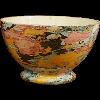 Rare Maestricht Mochaware  Au Lait Bowl