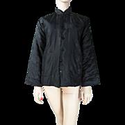 Vintage Padded Chinese Silk Damask Jacket